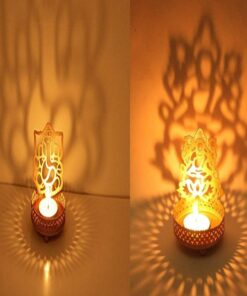 Ganesh-Laxmi Jodi T-Light Holder