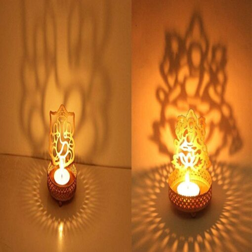 Ganesh-Laxmi Jodi T-Light Holder