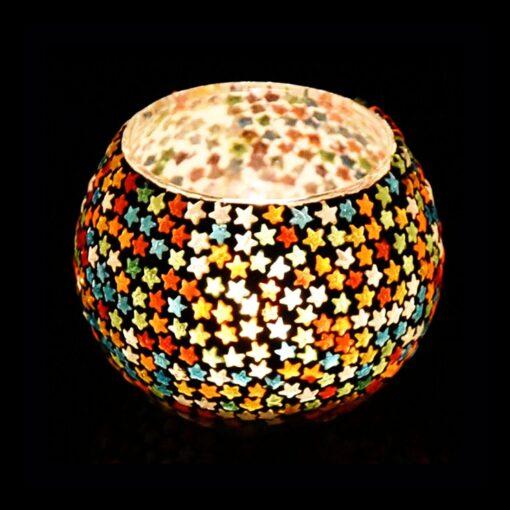 Mosaic Candle Holder