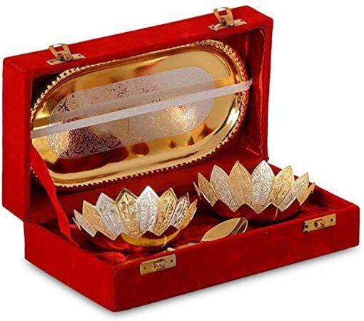 Silver Bowl Gift Set
